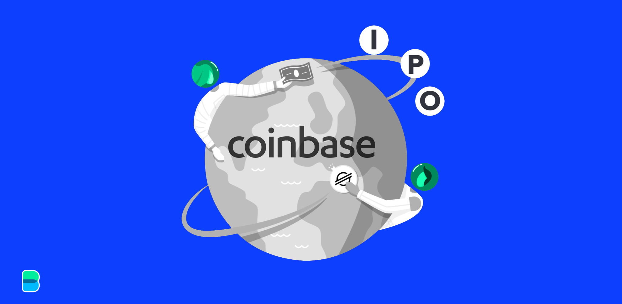 Coinbase raises by going public