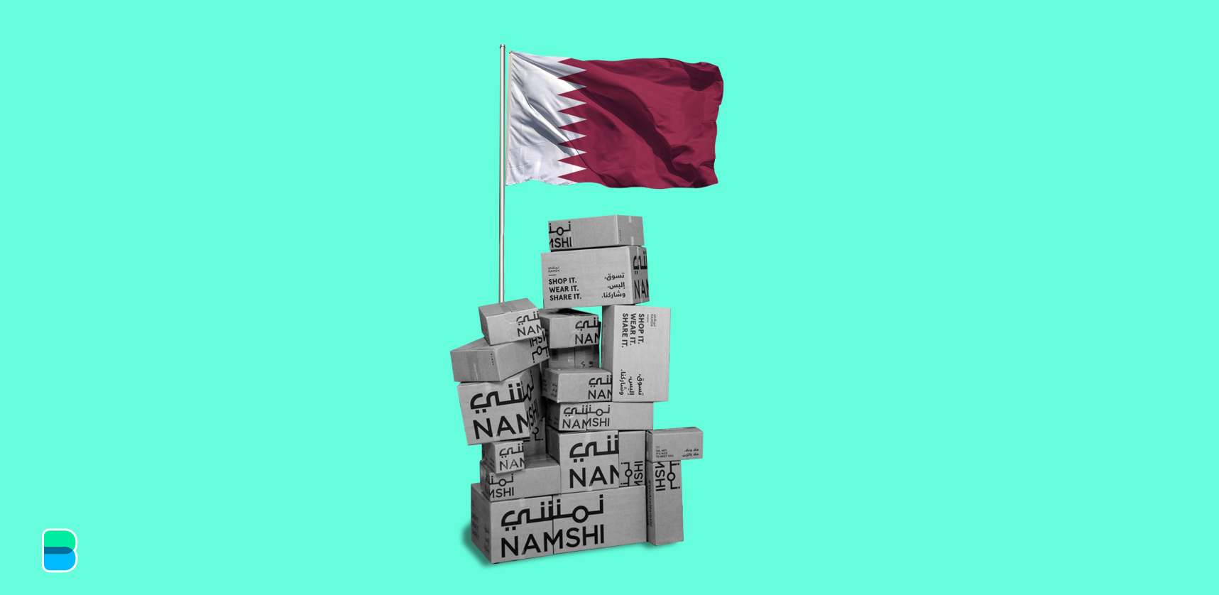 Namshi doesn't waste any time when it comes to Qatar