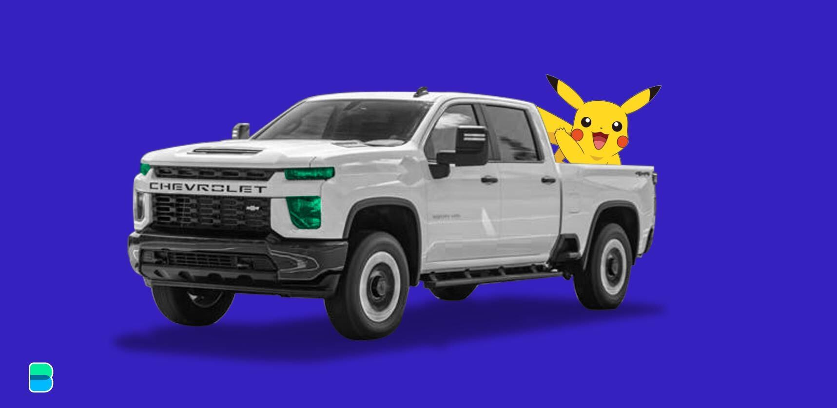 What do Pikachu and the Chevy Silverado have in common?