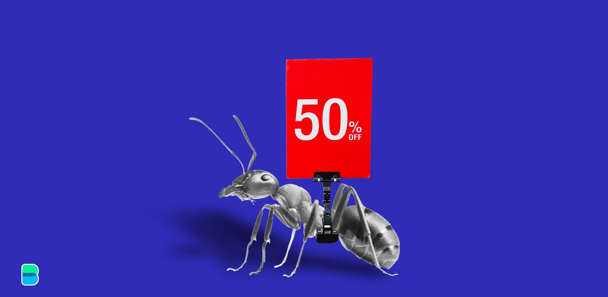 Ant Group: 50% off