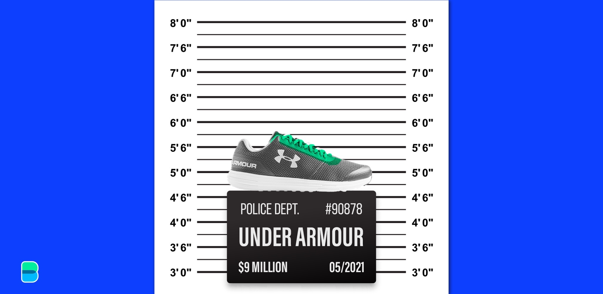 Under Armour busted