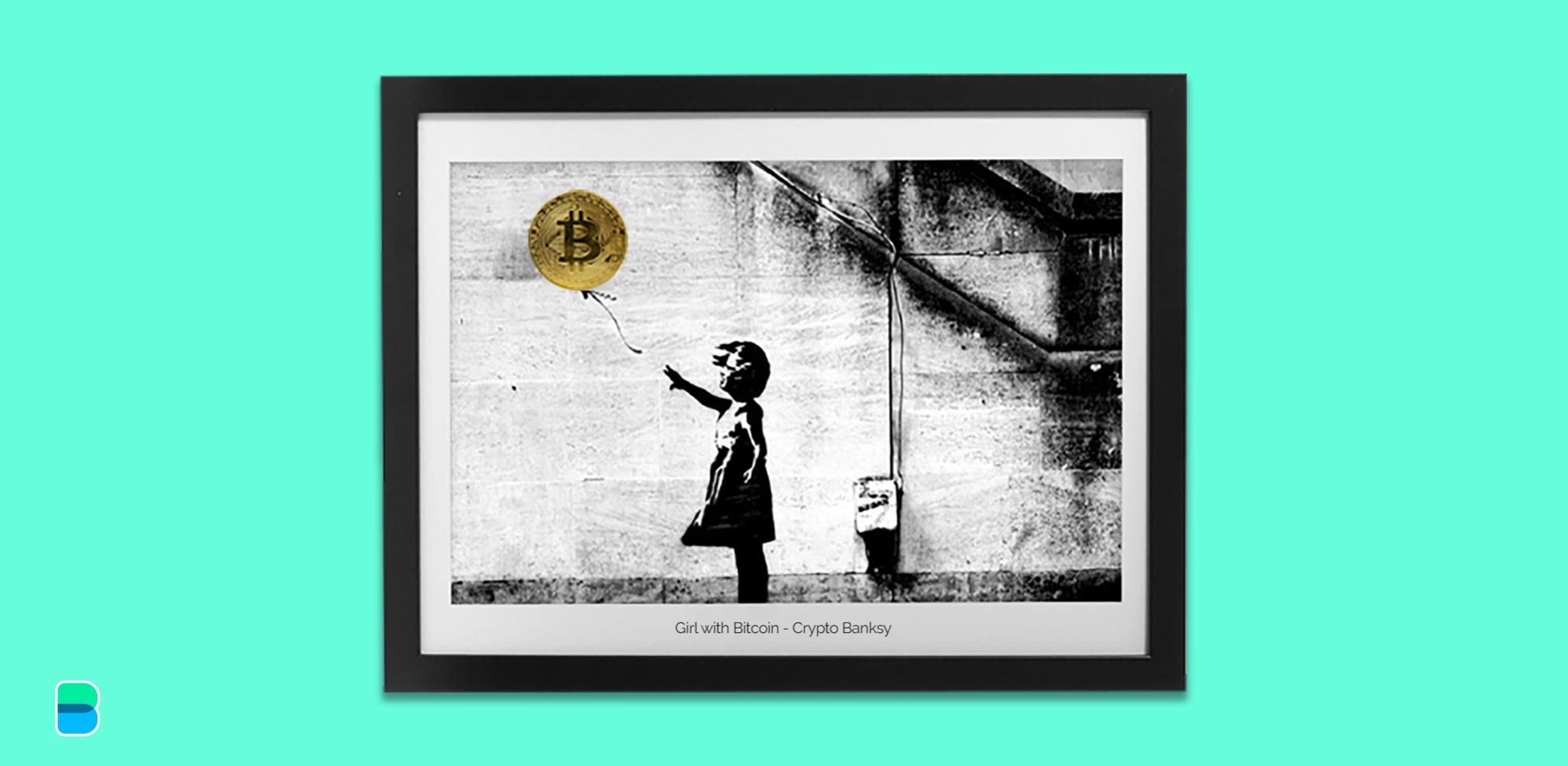 Have some spare bitcoin? Buy a Banksy