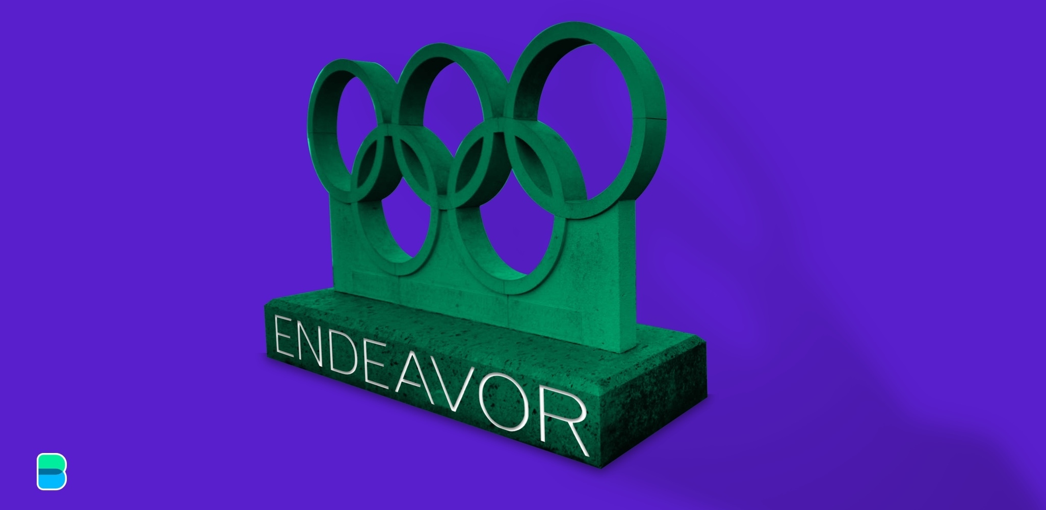 Endeavor hits the podium at the Olympics