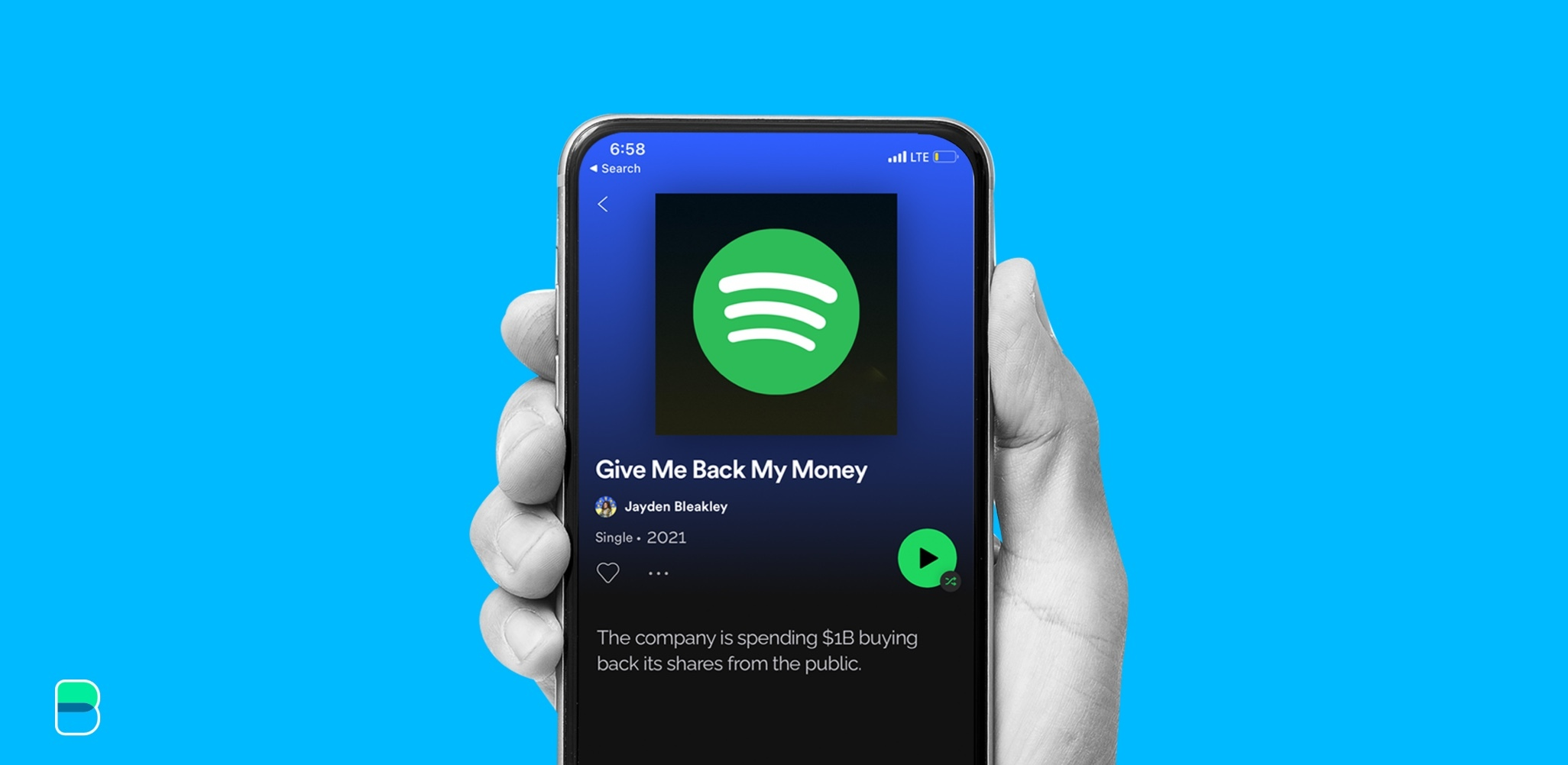 Spotify wants to take back what's theirs