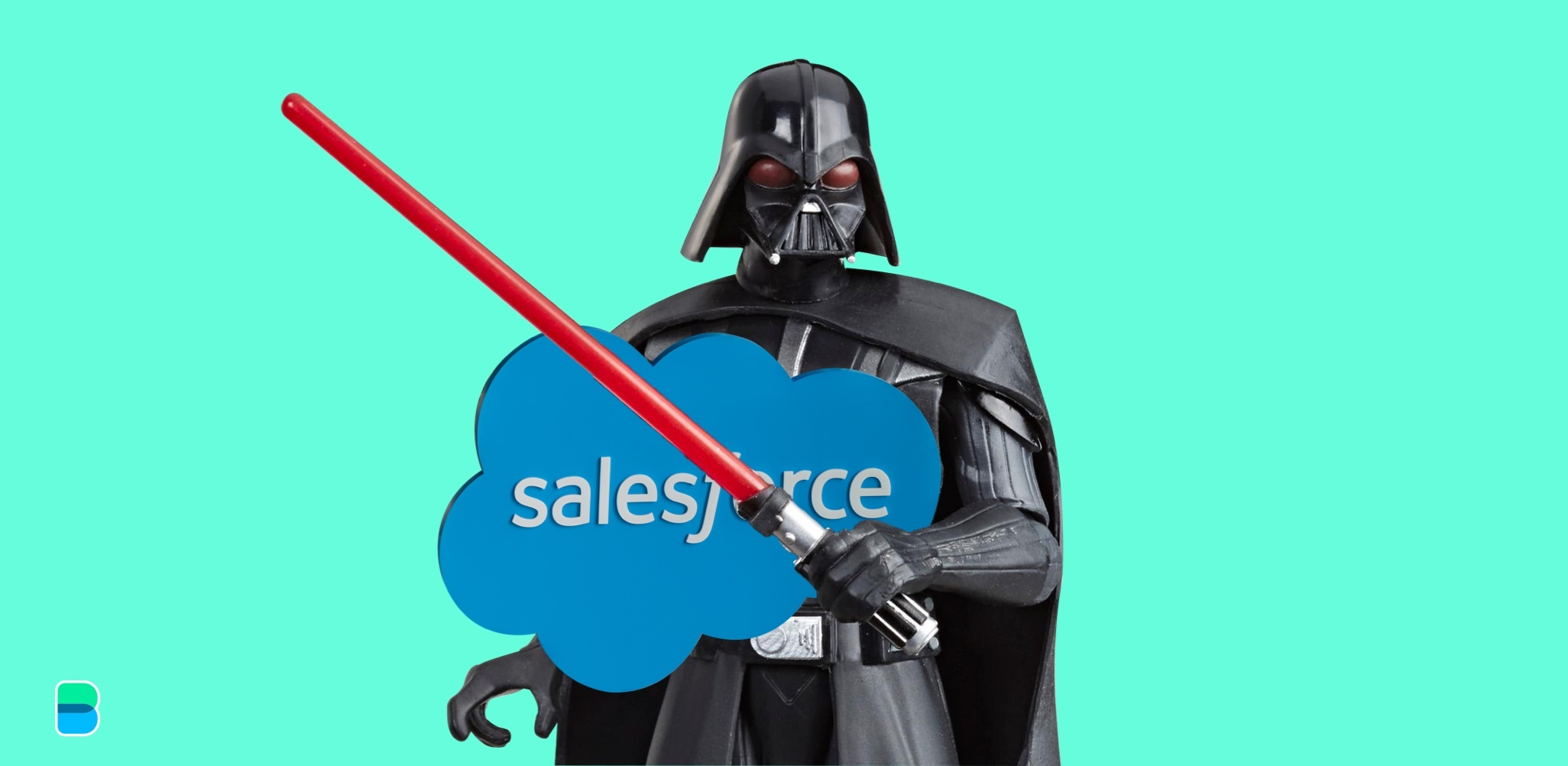 The force with Salesforce is strong